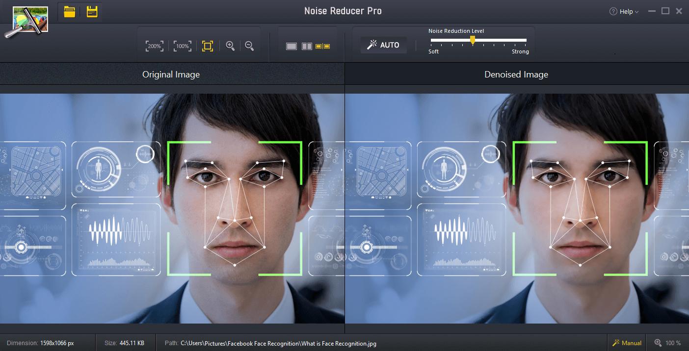 Noise Reducer Pro - Online Image Editor