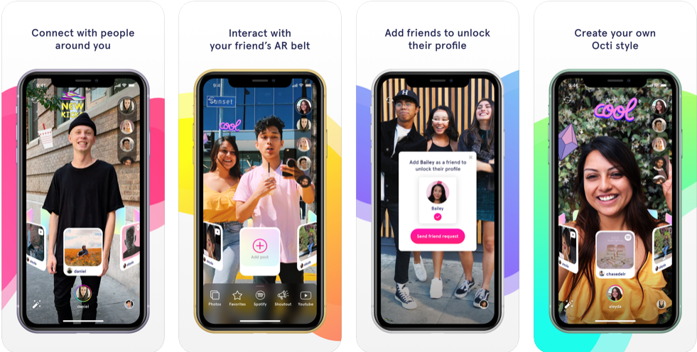Octi is the first people-powered social AR platform