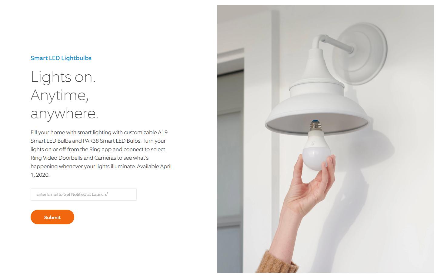 Ring Smart LED bulbs