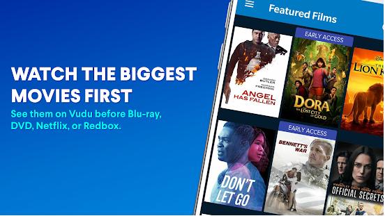 Vudu- Movie Streaming App