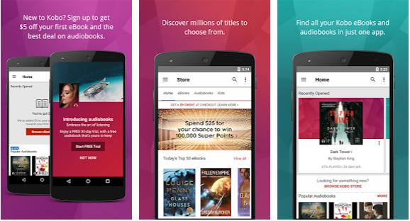 kobo EBook Reader App