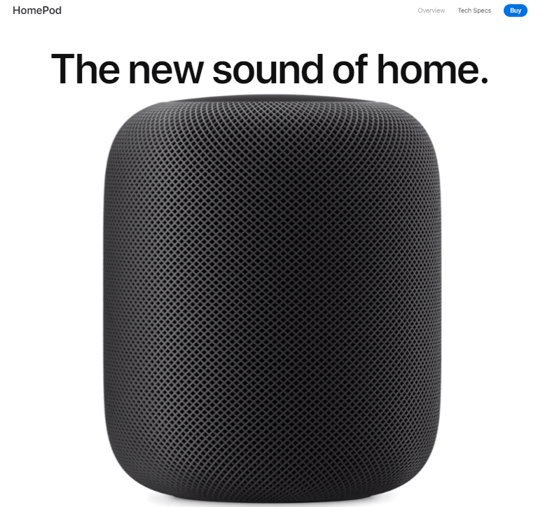 Apple HomePod - Anew Sound of Home