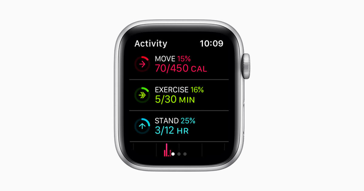 Apple Watch Track Movements