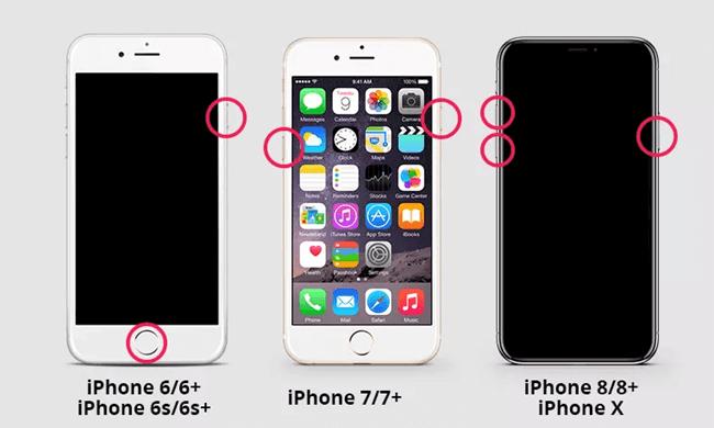 Apple logo shows up