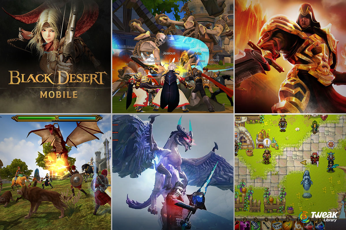 Free MMORPG Games For Android