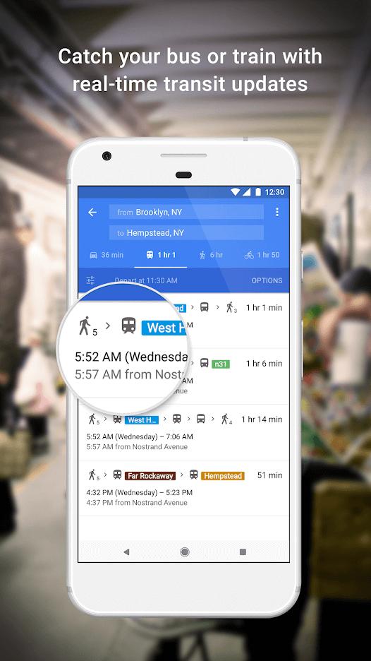 Google Maps- Best Route Planner