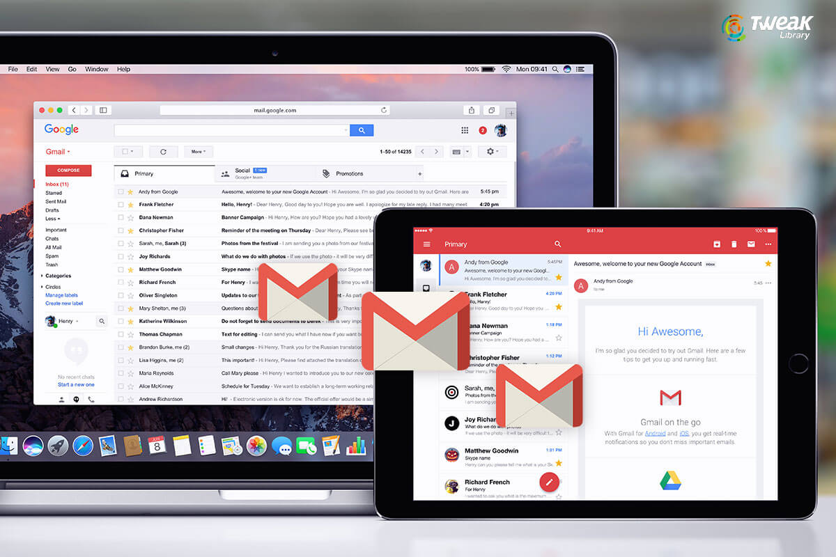 How to Import Emails into New Gmail Account