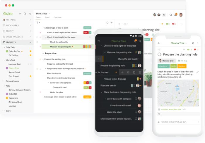 Quire - Best Task Management Software