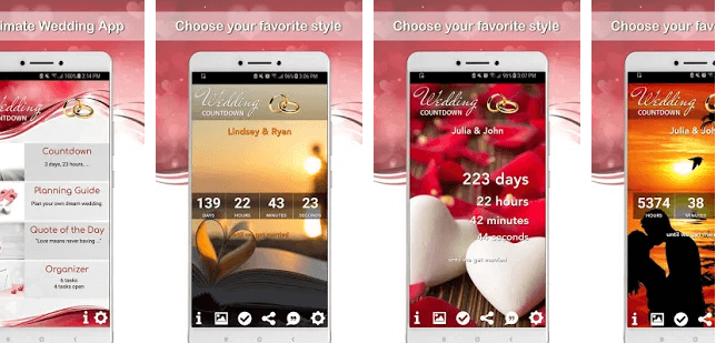 Wedding Countdown App- Kulana Media