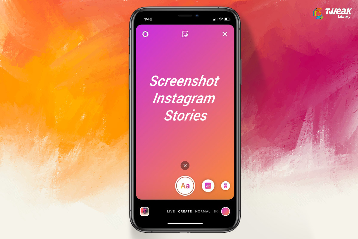 screenshot instagram stories without notifying the user