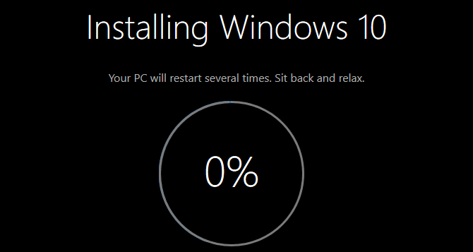 Display A Fake Windows Update