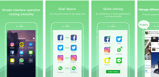 Dual Accounts Multi Space App