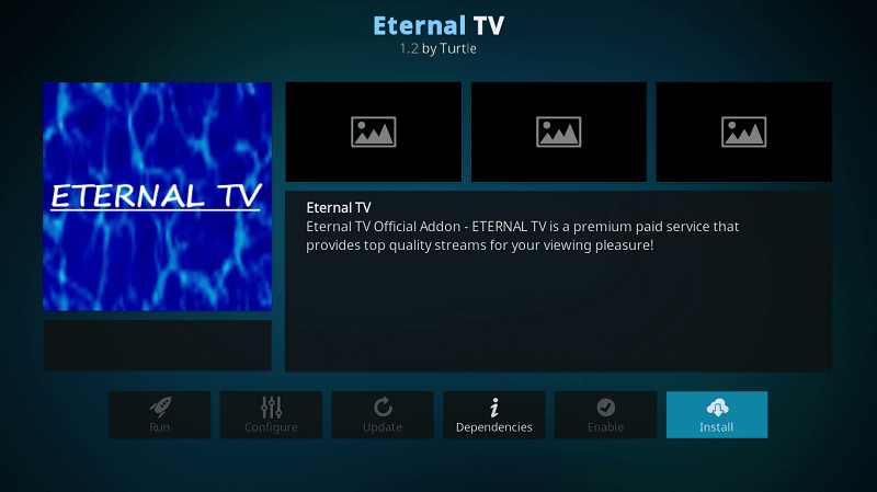 Eternal TV IPTV