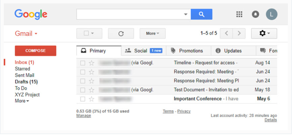 Free Up Space on Gmail