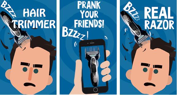 Hair Clipper Prank App