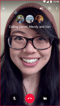 Hangouts - Altenative of Facetime For Android