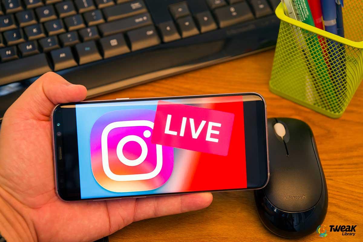 Live Stream on Instagram