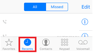How to Unblock a Number from Recent Call List