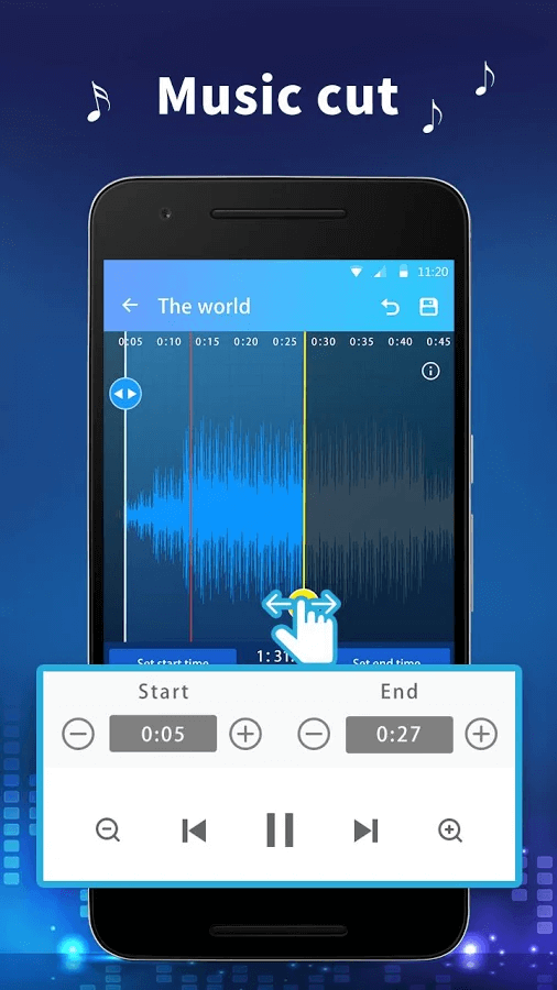 MP3 Cutter- Ringtone Maker & Music Cutter