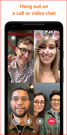 Messenger - Alternative of Facetime for Android