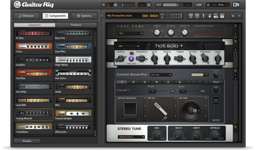 Native Instruments Guitar Rig 5 - Guitar AMP Software