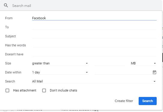 Select Your Search Criteria