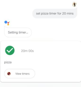 Set A Kitchen Timer