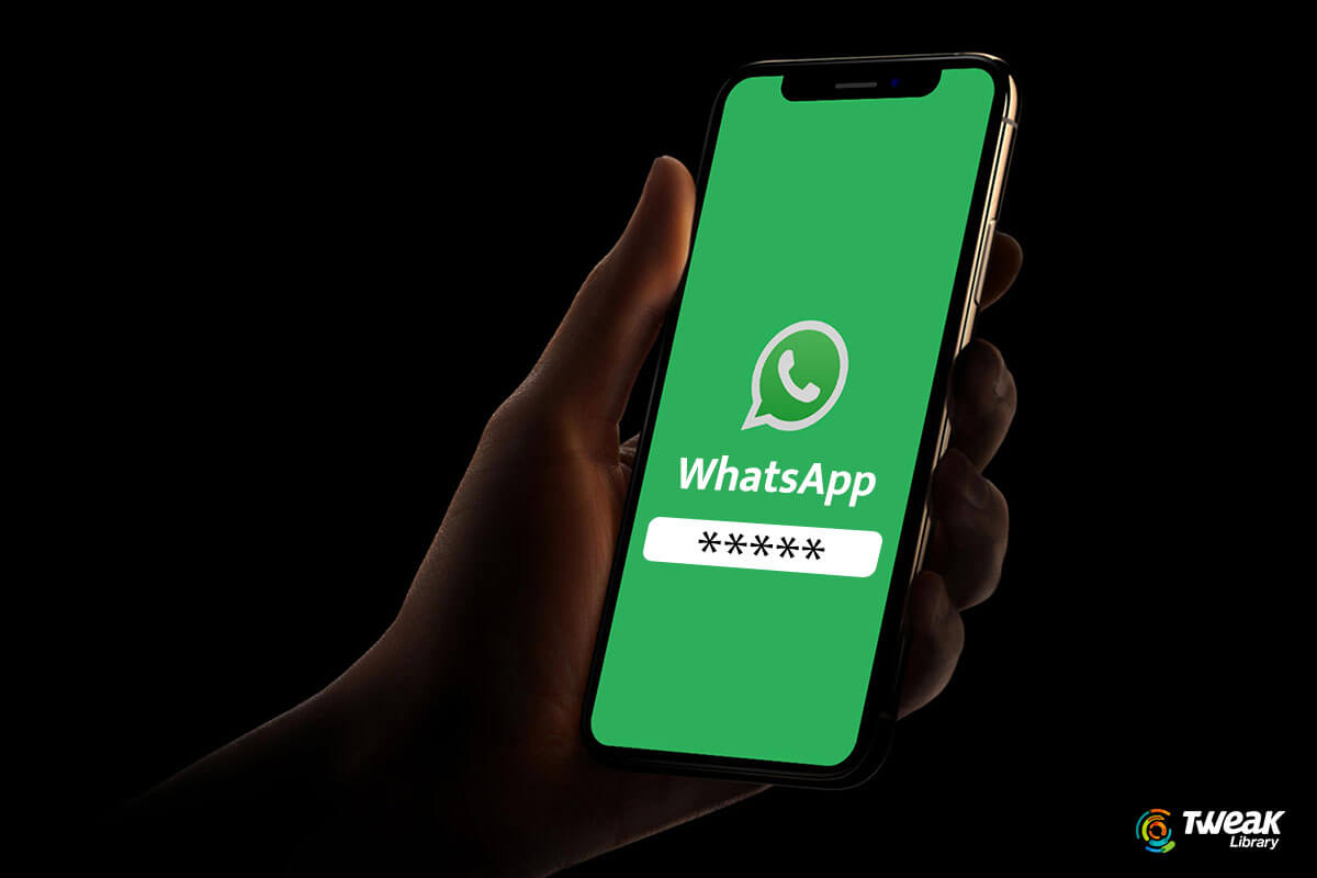 whatsapp password protect chat backups