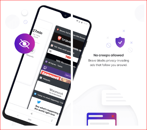 Brave Private Browser for android