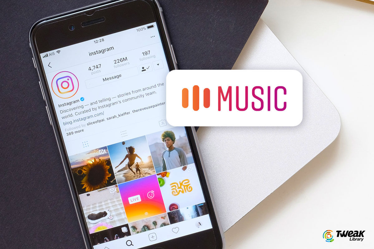 Instagram music