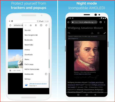 Kiwi Browser for android