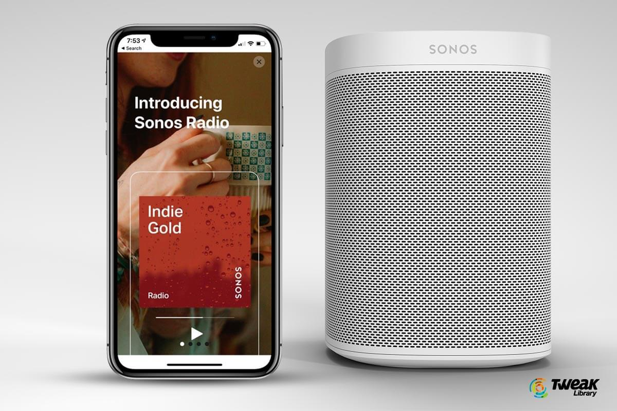 Sonos introduced it's own radio streaming service