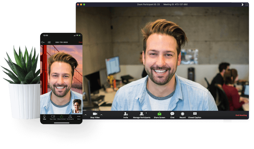 Zoom Video Confrencing App