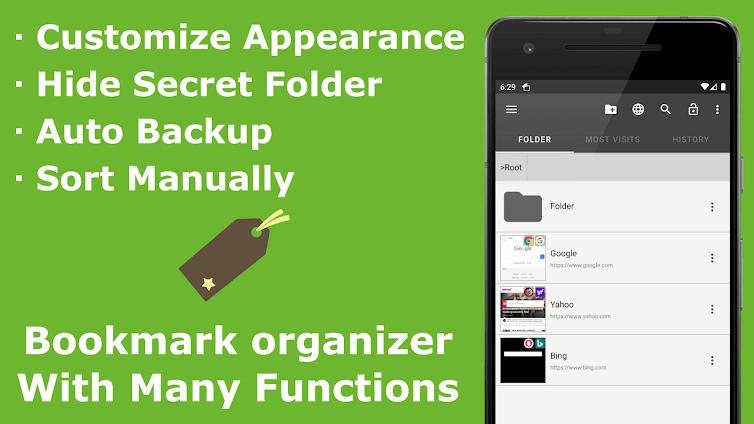 Bookmark App - Customize Bookmark Manager