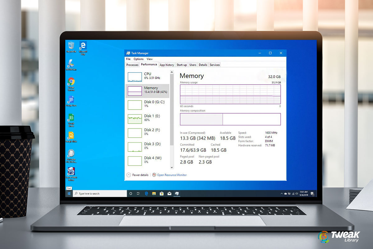 Check RAM Speed In Windows 10