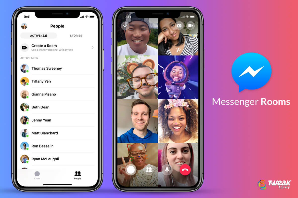 Facebook-Messenger-Rooms
