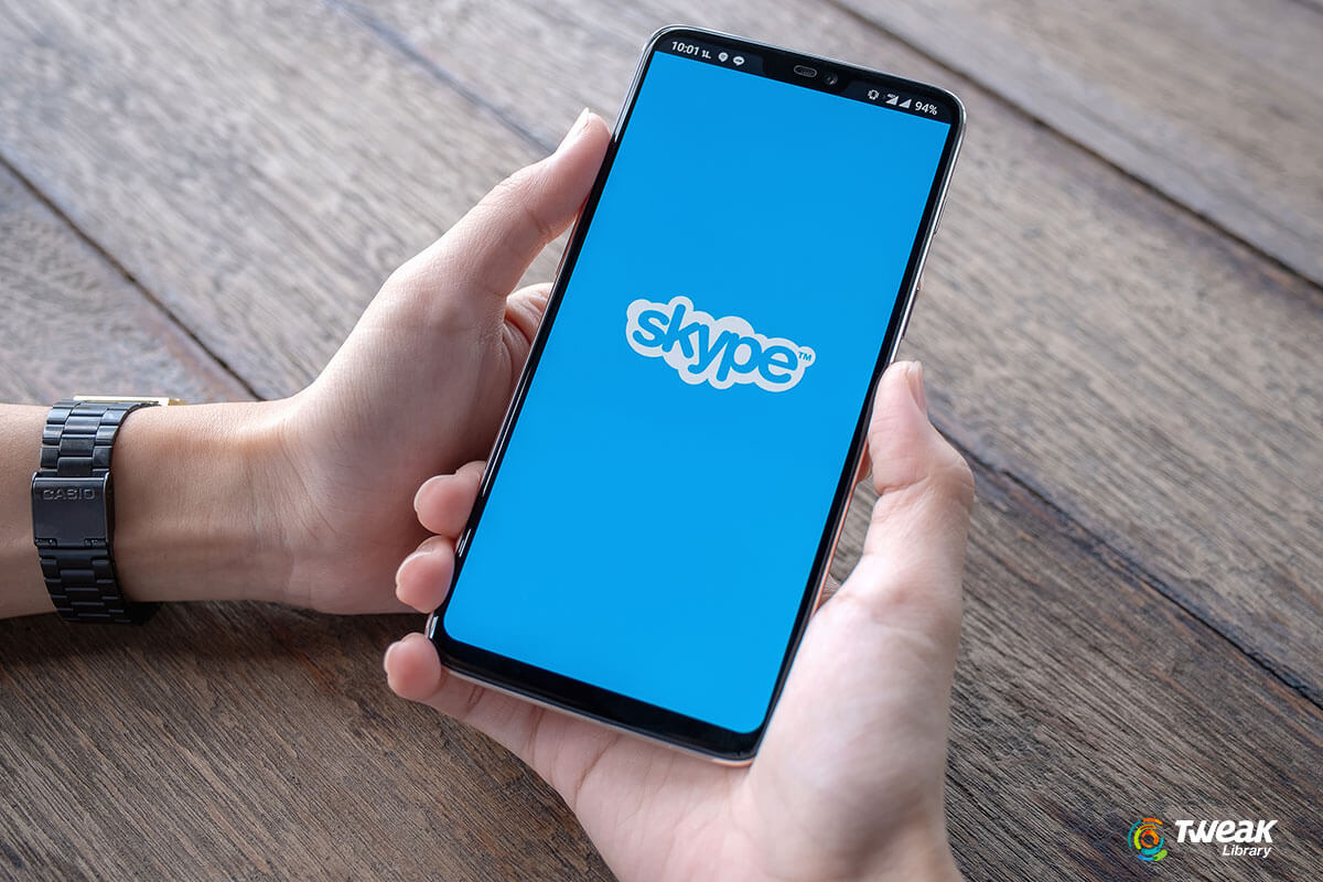 How to use skype on Android