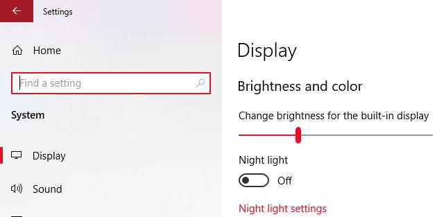 Turn On Night Light