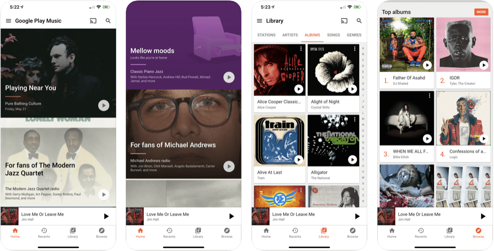YouTube Music Replacing Google Play Music Officially